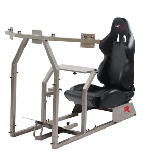Racing Simulator With a Stand
