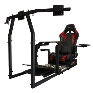 New GTA Pro Simulator (Black) – The Latest in Sim Racing – Seat Color Options Available – In Stock Available Now